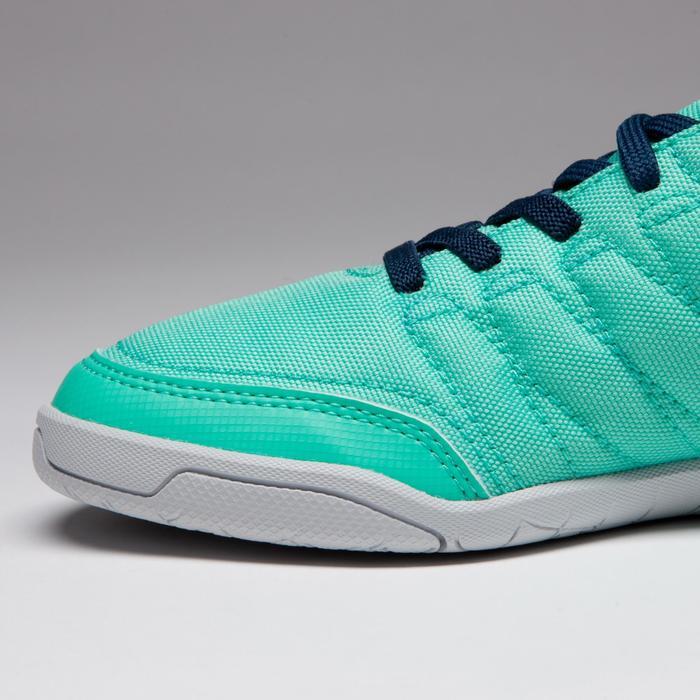 Chaussure de futsal enfant CLR 500 à scratch bleue - 1333737