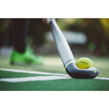 Stick Hockey Hierba Kipsta FH500 50% carbono adulto amarillo