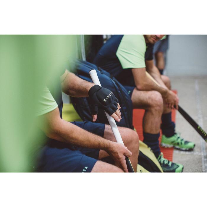 Gant de hockey sur gazon intensité faible à moyenne enfant et adulte FH100 noir