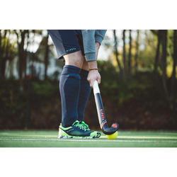 Medias de hockey sobre hierba niños y adultos FH500 azul marino