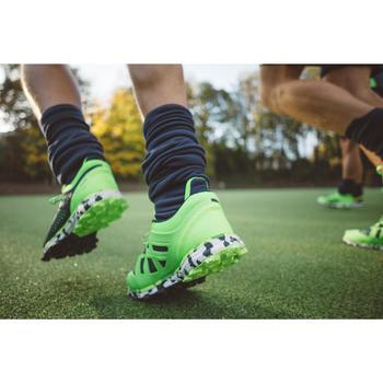 Zapatillas de hockey sobre hierba hombre intensidad media FH500 verde