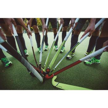 Feldhockeyschläger FH500 Fortgeschrittene Mid Bow 50% Carbon Erwachsene gelb
