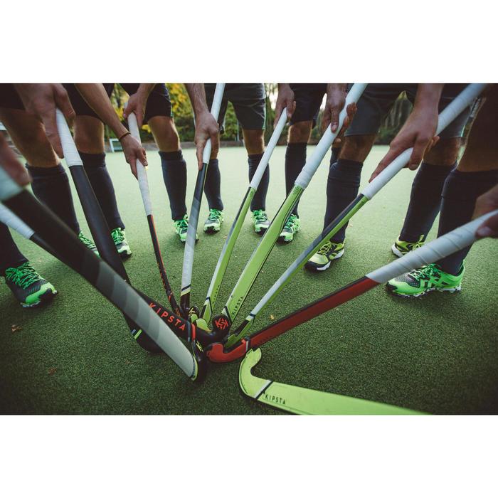 Feldhockeyschläger FH500 Fortgeschrittene Mid Bow 50% Carbon Erwachsene rot