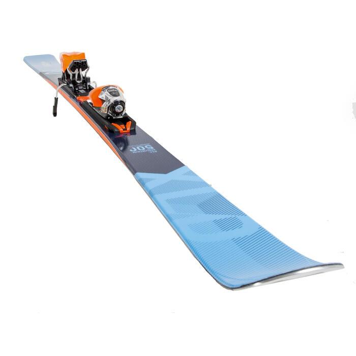 男款全山地雙板滑雪板XLD500 - 藍色橘色