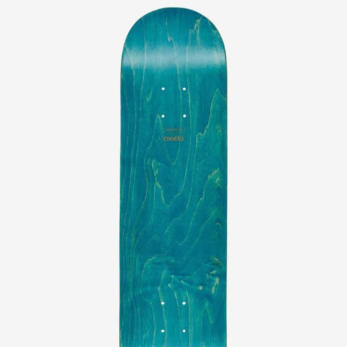 """Tabla de skate TEAM NUDE 8,25"""" azul"""