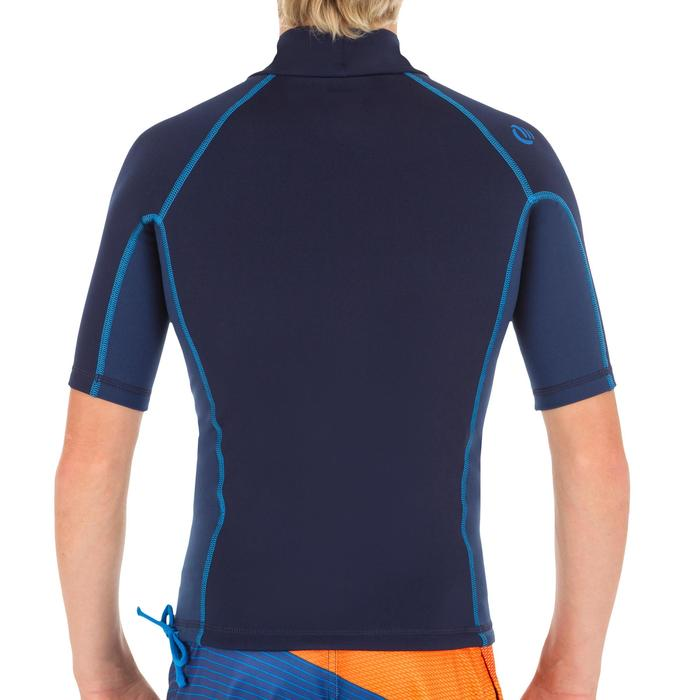 tee shirt anti UV surf top thermique polaire manches courtes enfant - 1333933