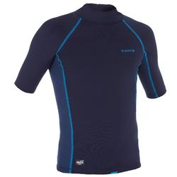 Thermo-Shirt kurzarm UV-Schutz Fleece Kinder