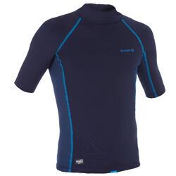 tee shirt anti UV surf top thermique polaire manches courtes enfant