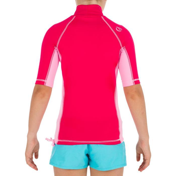 tee shirt anti UV surf top thermique polaire manches courtes enfant - 1333938