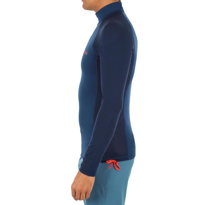 Thermische en uv-werende rashguard 900 met lange mouwen voor heren blauw