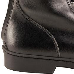 Boots à lacets équitation adulte 500 noir