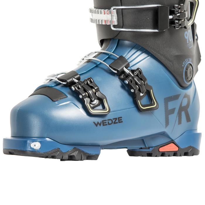 Skischoenen freeride/toerskiën volwassenen FIT 900 blauw