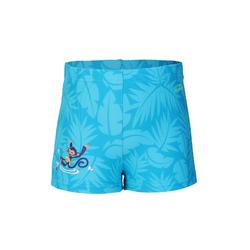 Titou Baby Shorts All Palm Blue Monkey Print