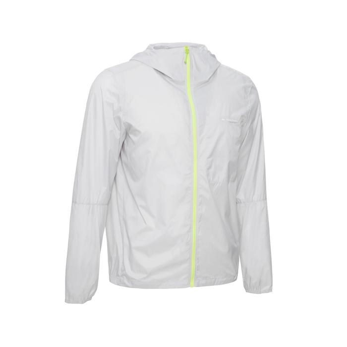 Men's FH100 Helium Wind UV-resistant speed hiking windbreaker Grey