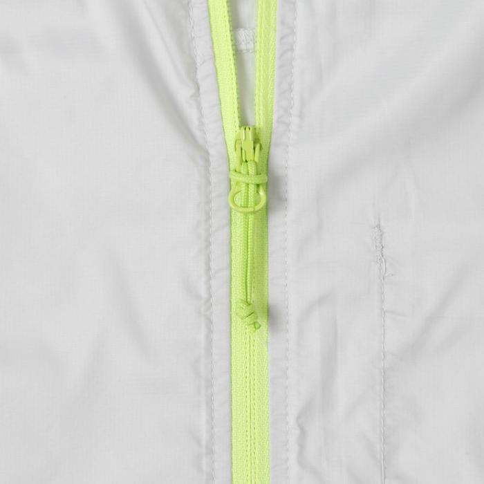 男款抗UV健行防風外套Helium FH100-灰色