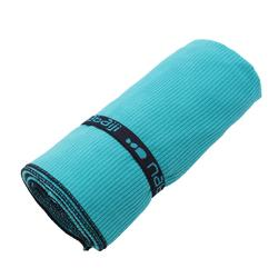 Microfibre Towel, L - Striped Blue