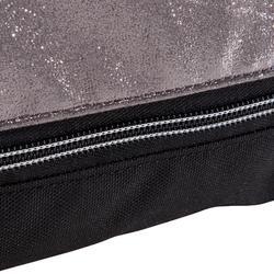 Tasje voor balletschoentjes zilverkleurig