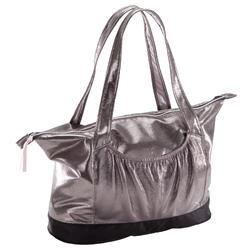 Tas voor ballet zilverkleurig