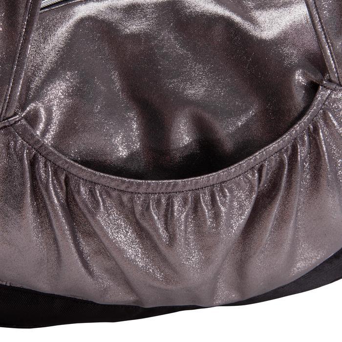 Tas voor ballet dames zilverkleurig