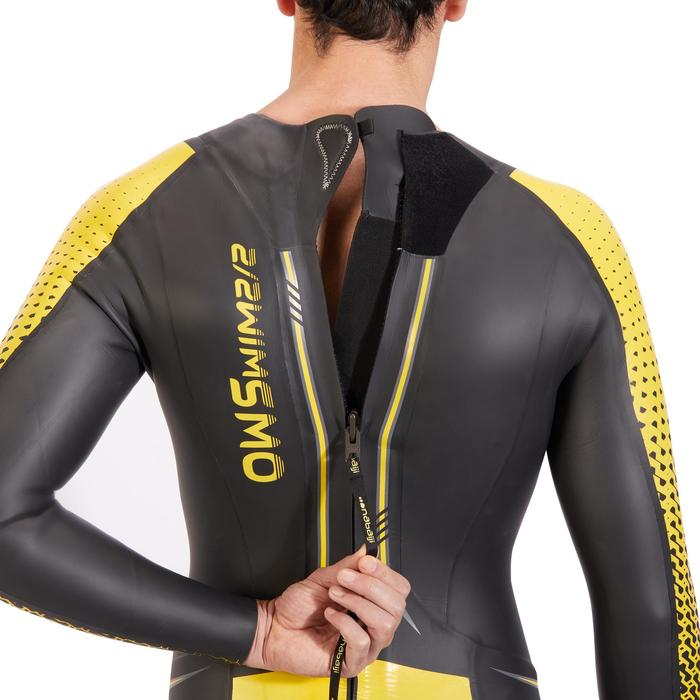 Neopreen herenwetsuit voor zwemmen OWS 900 4/2 mm koud water