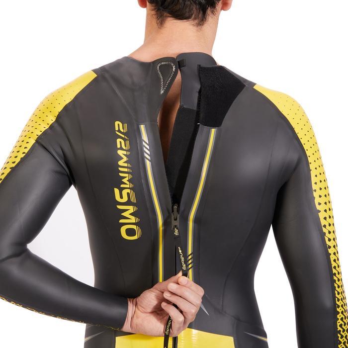 OWS 900 Men's 4/2 mm Cold Water Neoprene Swimming Wetsuit