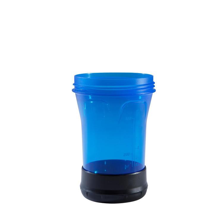 SHAKER MUSCULACIÓN DOMYOS AZUL 500 ml