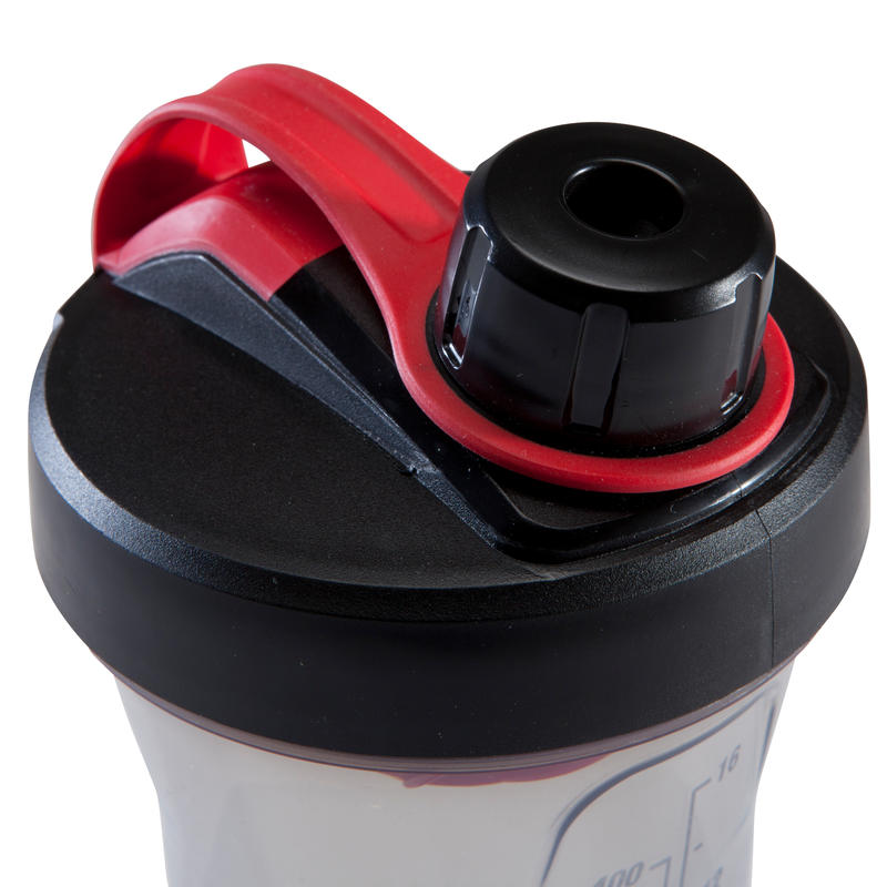 Shaker 500 ml - Black/Red