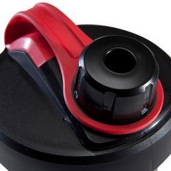 Shaker zwart/rood 500 ml
