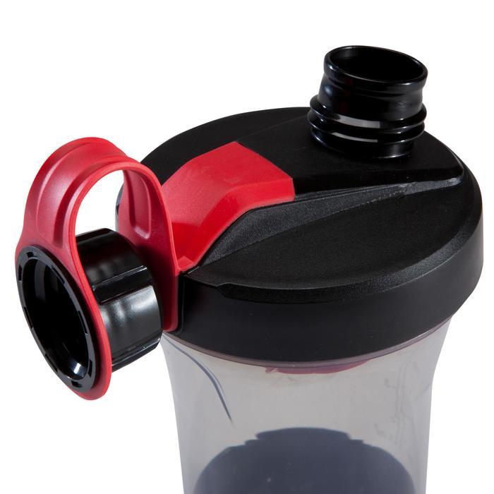 SHAKER NEGRO/ROJO 500 ml