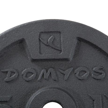 Weight Training Dumbbells And Bars Kit 50 Kg Domyos By