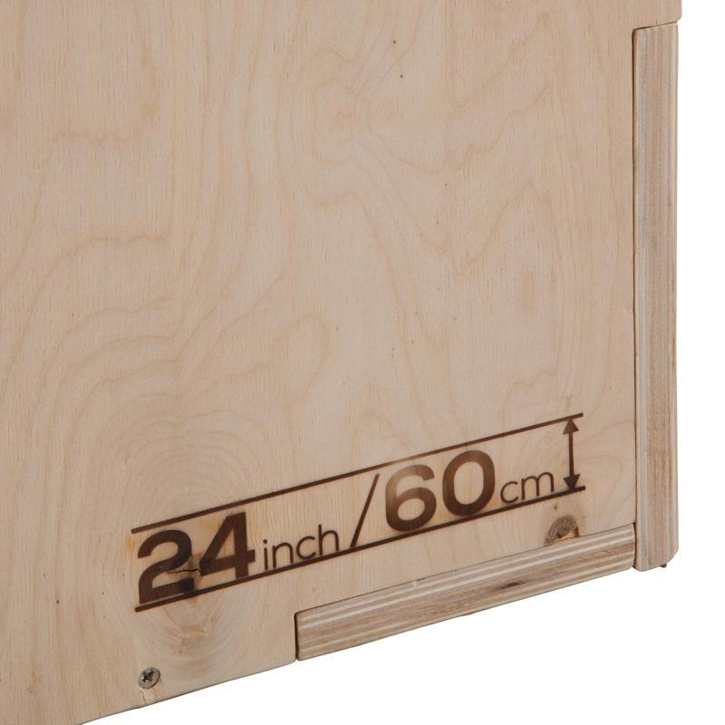 กล่องสำหรับกระโดดเพื่อการฝึกแบบพลัยโอเมตริก