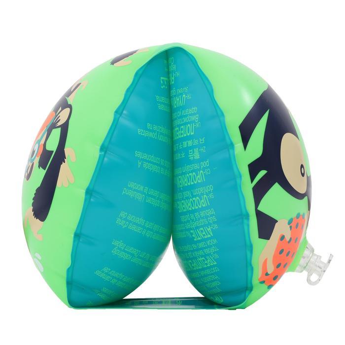 "11-30 kg Children's Swimming Armbands - ""MONKEY"" print"