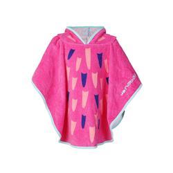 兒童連帽浴袍 Flamingo印花