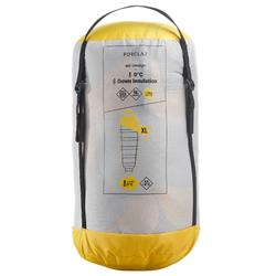 Trekking Sleeping Bag Trek 900 0° Feathers - Yellow
