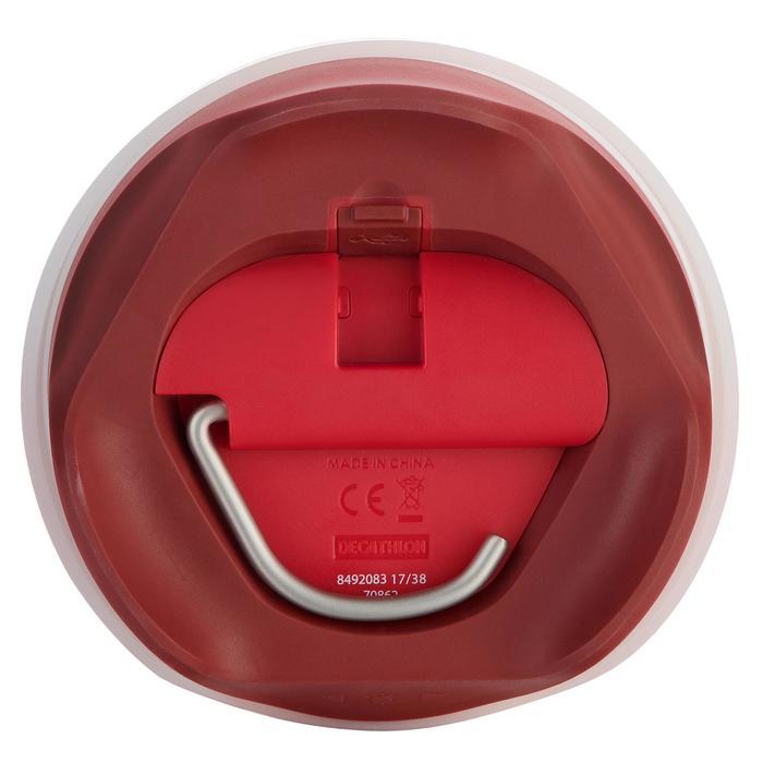 Campinglampe aufladbar BL200 Lumen rot