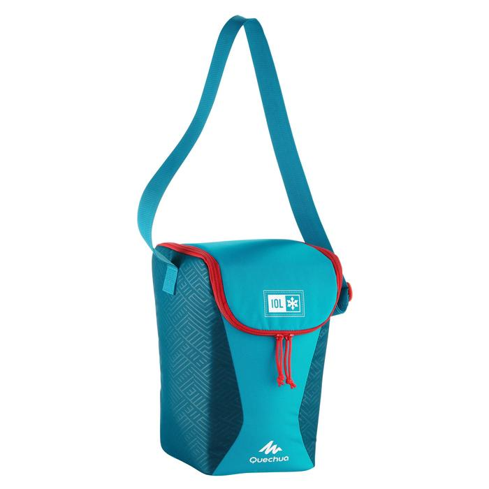 CAMPING/TREKKING ICE BOX COMPACT 10 LITRES BLUE
