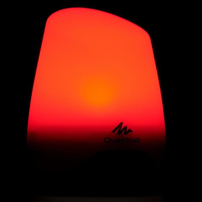 Herlaadbare camping lantaarn BL 200 lumen rood