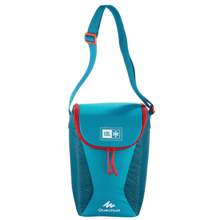 CAMPING/TREKKING ICE BOX COMPACT 10 LITRES BLUE - 1334587