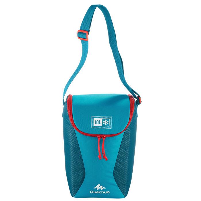 Koeler camping/trekking Compact 10 liter blauw