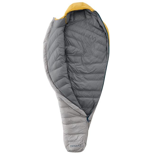 Trekking Sleeping Bag Trek 900 0° Feathers - Yellow