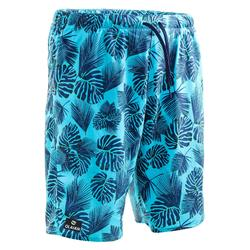 100 long surfing boardshorts Flower blue