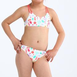 Girls' Two-Piece Crop Top Swimsuit - Camo