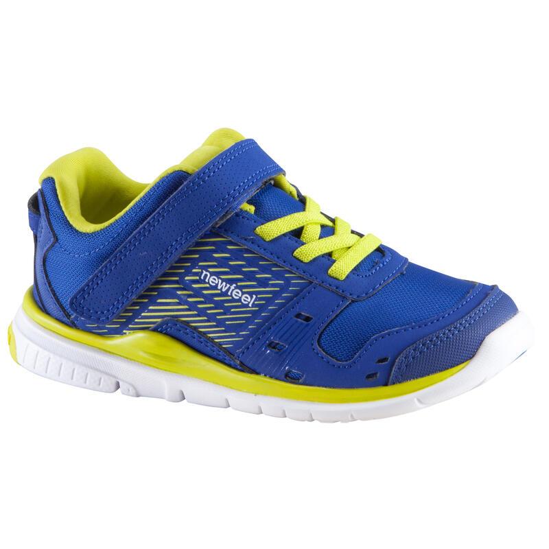 Actireo Children's Fitness Walking Shoes - Blue/Yellow