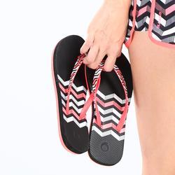 TO 500W Doty 女款沙灘夾腳拖鞋 - 黑色