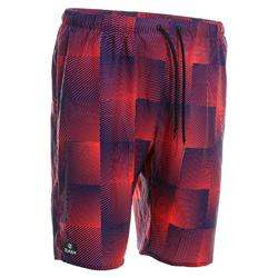 100 Long surfing boardshorts China red square