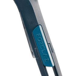Couvert pliant trekking (fourchette / cuillère) TREK500 plastique bleu