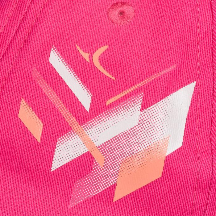 Casquette 500 Gym Fille rose imprimé