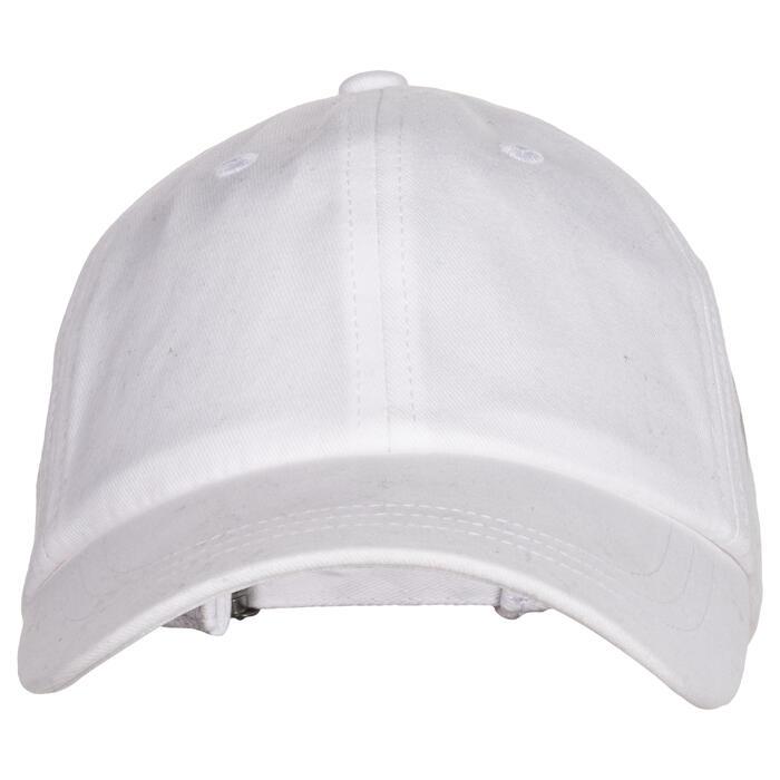 Casquette 500 Gym Fille blanc imprimé