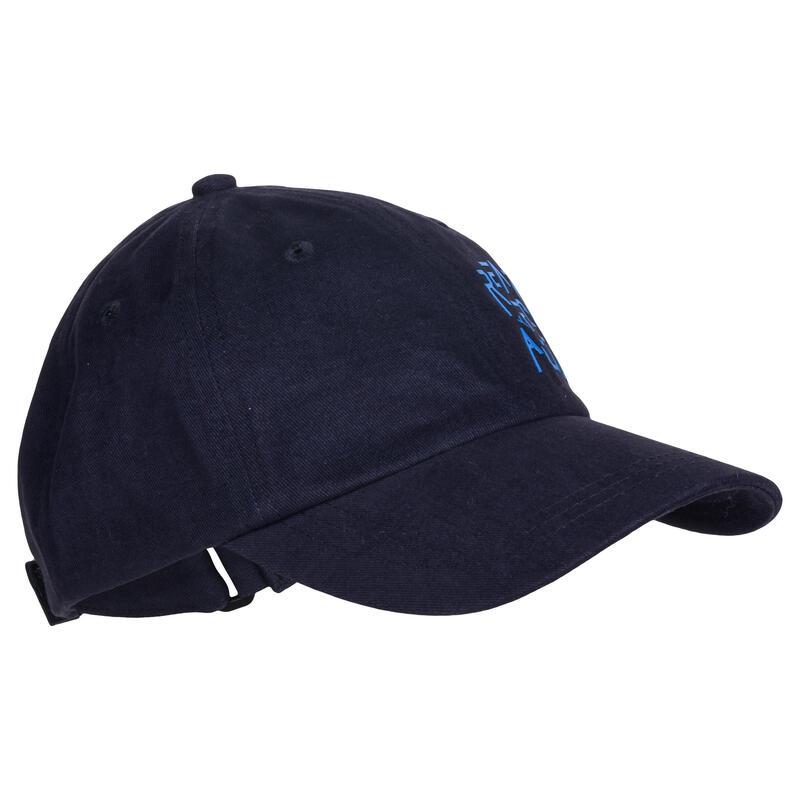 Casquette 500gym garçon imprimé bleu marine