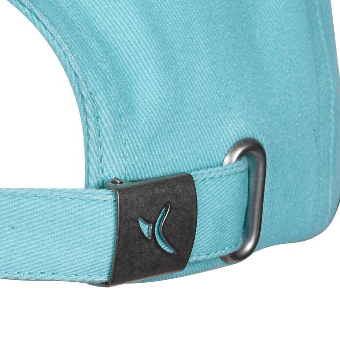 Casquette 500 Gym Fille turquoise imprimé